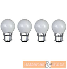 60w BC B22 Bayonet Opal Golf Traditional Dimmable Light Bulb Lamps | Pack of 4