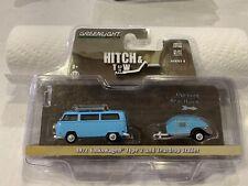 Greenlight Hitch & Tow 1972 Volkswagen Type 2 & Teardrop Trailer