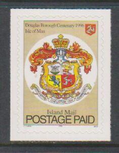Île de Man - 1996,Centenaire Douglas District Londonien Tampon - Adhésif - Sg