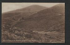 Worcestershire Beacon and Hill Paths Malvern  vintage   postcard  Zd.300