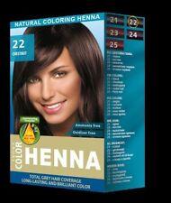 Aroma - Henna Natural Hair Dye Powder Hair Color Toner Chestnut
