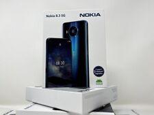 "Nokia 8.3 5G 128GB 8GB ROM TA-1243 Factory Unlocked Android One 6.81"" | BLUE"