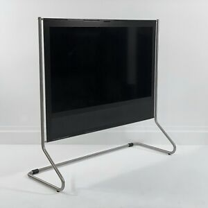 Bang & Olufsen Beoplay V1-40 • Black with Floor Stand and Beo4•Beovision TV B&O