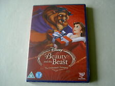 BEAUTY AND THE BEAST: THE ENCHANTED CHRISTMAS new sealed UK DVD Disney