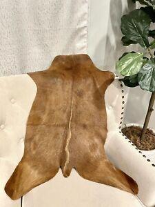 "New Genuine Goat Rug skin Area Rug Goathide Rug(30""X 30"")-H91"