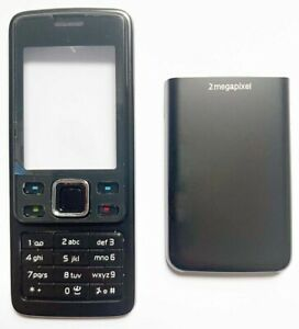 For Nokia 6300 / 6300i Replacement Housing /Fascia /Case /Cover - Black