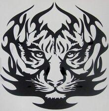 """24x24"""" LARGE car bonnet tribal flames lion tiger vinyl graphic side sticker"""