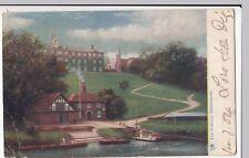 Shrewsbury; The Schools PPC Tuck Oilette 1904 PMK To Miss Walter, Prescott,