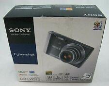Sony Cyber-shot DSC-W370 14.1 MP Digital Camera - Silver COLOR