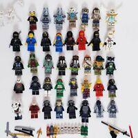 Lego Minifigures Bulk Lot Over 39 Figures Ninjago + Legends of Chima Free Post