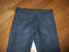 WOMENS TOMMY HILFIGER DENIM CASSANDRA JEANS 29 X 28 GLAZED WORN IN ALTERED