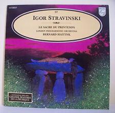 33T Igor STRAVINSKI Disque LP SACRE DU PRINTEMPS B HAITINK -MUSIQUE ALPHA N° 97