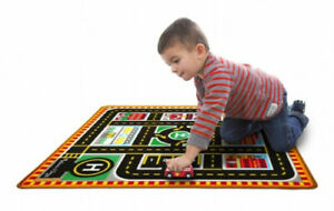 Round the City Rescue Rug - Vehicle Toy by Melissa & Doug. Best Price