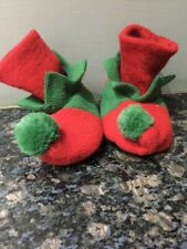Marks & Spencer Xmas Elf/Pixie Bootees - 6-12 Months