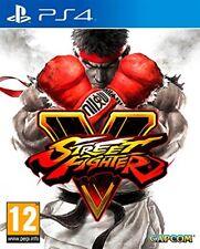 Street Fighter 5 V - PS4 Playstation 4 Spiel - NEU OVP