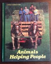 Animals Helping People (1983, Hardcover) Suzanne Venino PreOwnedBook.com