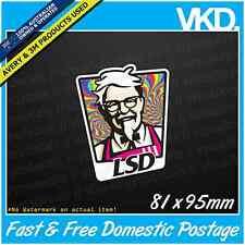 LSD Sticker/Decal - JDM DRIFT VINYL Funny Dope Weed 420 Parody Acid Pingers Cave