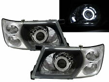 Patrol GU3 Y61 MK5 2001-2007 5D CCFL Projector Headlight Black for NISSAN LHD