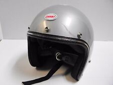 Vintage Grant RG9 Helmet mini bike motorcycle snowmobile w/Front Logo Sticker