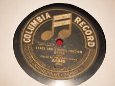 "Prince's Band Columbia A5848 12"" 78 RPM 1916 Stars Stripes Forever Natl Emblem"