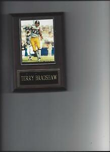 TERRY BRADSHAW PLAQUE PITTSBURGH STEELERS FOOTBALL NFL