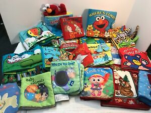 Baby Cloth Soft Fabric Quiet Books Interactive CHOICE ~ Free Ship