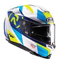 HJC RPHA 70 Lif Blue Motorcycle Motorbike Full Face Sports Touring Helmet