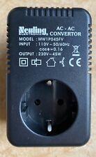 Step-Up Spannungswandler Converter AC AC Transformator 110V- 230V (45W) USA DE