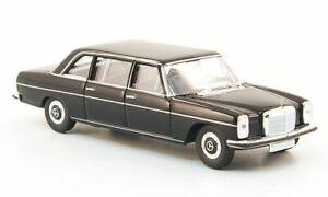 Mercedes 220 D lang (W115), schwarz, 1:87, Brekina Starmada