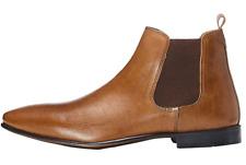 find. Herren Chelsea Boots Gr. 44 Leder Braun