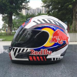 Red Bull Fullface Helmet Motocross Motorcycle Dot Registered Redbull