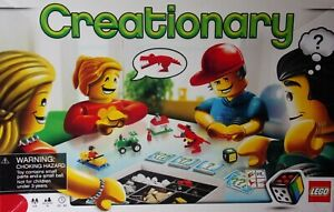 LEGO CREATIONARY Building Game #3844 Near Complete