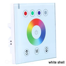 RGB LED Touch Switch Panel LED Controller LED Dimmer for Dc12v LED Strip White Dc12v-24v