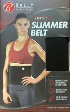 Bally Total Fitness Magnetic Slimmer Belt Brand New Black