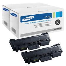 2x Original Samsung TONER Xpress M2625D M2675FN M2825DW M2825ND M2875FD M2875FW