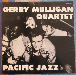 GERRY MULLIGAN QUARTET LP JAPON  PACIFIC JAZZ