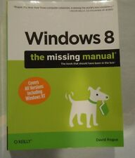 Windows 8: The Missing Manual - David Pogue - 2013 - O'Reilly