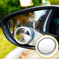 Round Latest Wide Angle Convex Car Blind Spot Stick-On Rearview Side View Mirror