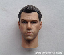 1/6 Head Sculpt Matt Damon Untitled Jason Bourne 5 Sequel fit HT enterbay body