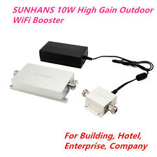SUNHANS 2.4Ghz 10W 40dBm HighGain Outdoor Wi-Fi Booster for Building/ Enterprise
