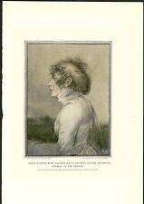 1897 Napoleon Marie Josephe Rose Tascher De La Pagerie Empress France COLOR PRIN