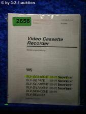 Sony Bedienungsanleitung SLV SE840D /E /SE747E /SE240D /SE740D (#2658)