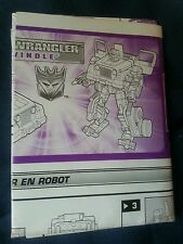 TRANSFORMERS ALTERNATORS SWINDLE INSTRUCTION BOOKLET ONLY FREE S/H
