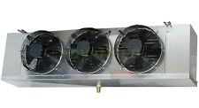 Low Profile Walk-In Freezer Evaporator Blower 3 Fans 15,000 BTU 1950CFM 208-230V