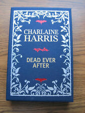 Collectible Limited First Edition Autographed Dead Ever After Charlaine Harris
