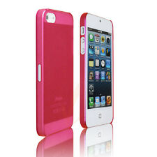 HotPink Ultra thin ProGel Case Compatible with i Phone 5, Frost Clear HotPink