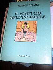 MILO MANARA-IL PROFUMO DELL'INVISIBILE-1989- CARTONATO-OLYMPIA PRESS VL28