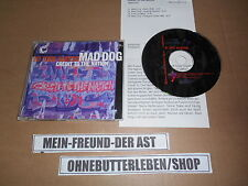 CD HIP HOP credit to the nazione-Mad Dog (4) canzone One Little Indian + presskit
