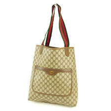 Gucci Tote bag Beige Red Woman Authentic Used Y2334