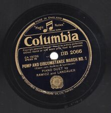 "10"" 78 COLUMBIA DB 2066 Elgar ""Pomp And Circumstance March 1"" Rawicz & Landauer"